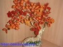 Дерево из бисера Бонсай Мастер класс