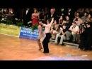 Maurizio Vescovo - Andra Vaidilaite final - samba GOC 2010 Stuttgart,