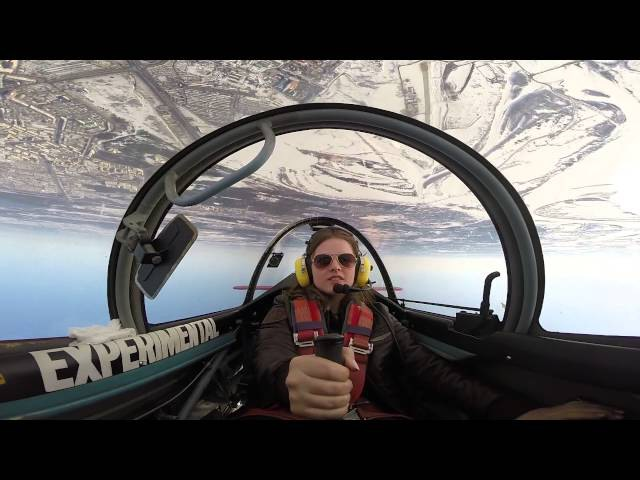 Женская пилотажная группа Барсы. Пилот Снежана. Боровая Сургут.