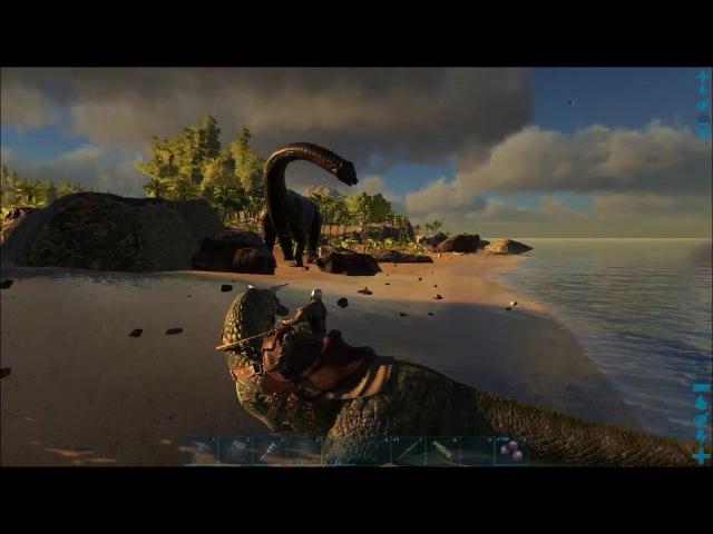 Игуанодон подготовка / ARK Survival Evolved