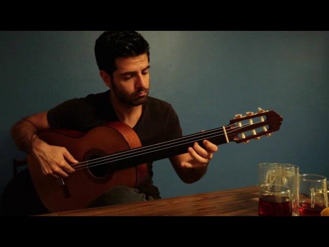 Cahildim Dünyanın Rengine Kandım - Sinan Cem EROĞLU (Perdesiz Gitar)