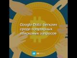 Google Data: биткоин среди популярных поисковых запросов