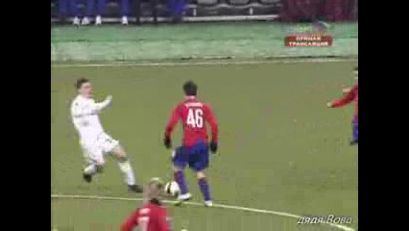 Кубок УЕФА 2008/09. ЦСКА (Москва) - Астон Вилла (Англия) - 2:0 (0:0)