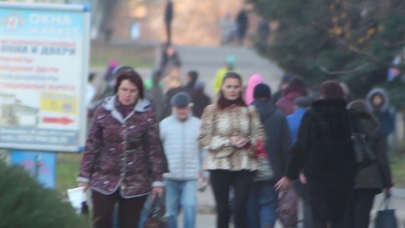 Улица Дворцовая в телеобъективе