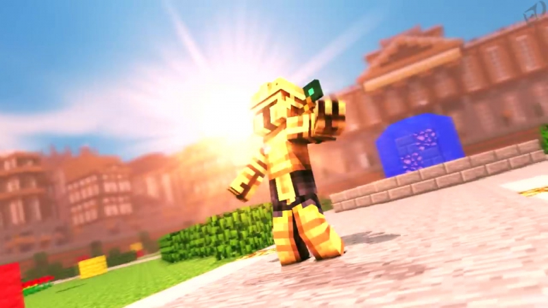 8)[Minecraft animation] intro「SKIV」 ➟ By EDgames.mp4