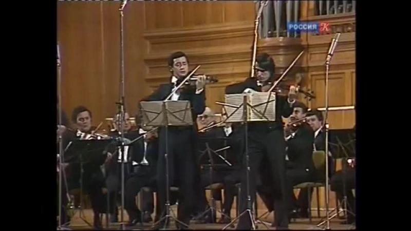 В. А. Моцарт. Концертная симфония для скрипки и альта с оркестром Es-dur K.364. БЗМК, В. Спиваков и Ю. Башмет, 1983