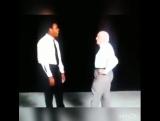 Мухамед Али и Кос Дамато на передаче .