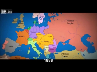 LiveLeak com abkebabs Map of Europe 1000 AD to present with timeline comments