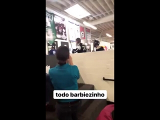 January 31: Another video of Justin at the Los Angeles Kings Valley Ice Center in Panorama City, California.
