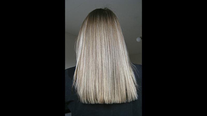 Stylist: Olya Ivanova. Кератиновое выпрямление X-TENZO especially for blondes(Лореаль).