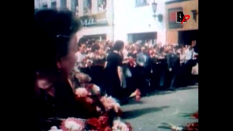 Похороны Владимира Высоцкого в Москве. 28. 07. 1980