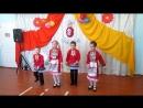 Сын танцует марийский танец