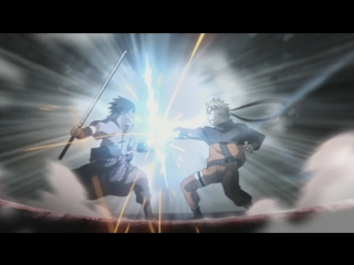 Наруто против Саске - второй альтернативный бой