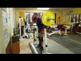 Алексей Никулин,  приседания 245 кг на 3 раза