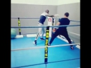 Тренировка участника ACB KB-13 Джибрила Эху