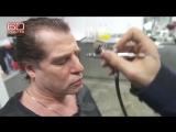 Видео, на котором человека, который представился Родченковым, гримируют