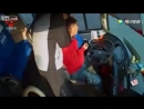 Водитель автобуса умер за рулем от внезапного кровоизлияния в мозг