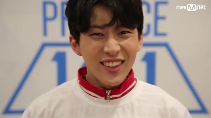PRODUCE 101 season2 [101스페셜] 도전! 아.이.컨.택ㅣКим Ёнгук (아이원) 161212 EP.0