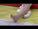 Chinese tickling feet TV show challenge (funny video) (Max 720p)