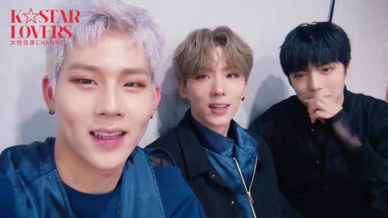 [RAW|VK][24.11.2017] MONSTA X for K☆STAR LOVERS CHANNEL @ jisin.jp