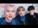 RAW VK 24 11 2017 MONSTA X for K☆STAR LOVERS CHANNEL @