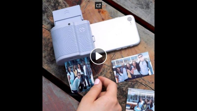 Это вложение превращает ваш телефон в камеру полароид. Купить здесь: insder.co/Prynt
