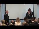 Mitch Beau Col promotion Ceremony