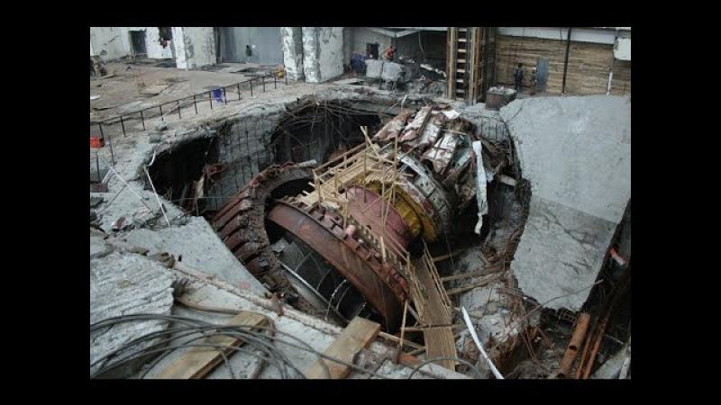 Саяно Шушенская ГЭС Авария август 2009 год Sayano Shushenskaya HPP