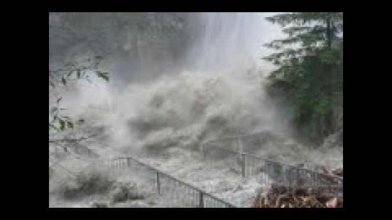 Рекордные наводнения захлестнули юг Норвегии. Record floods swept the south of Norway