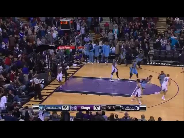 Tyreke Evans Half-Court Game-Winner