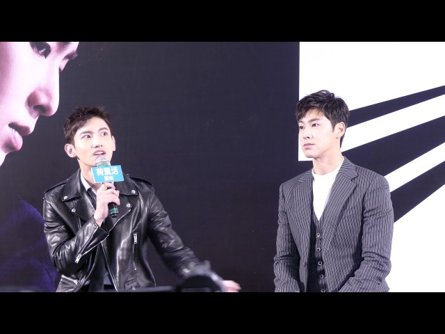 TVXQ!(東方神起) ASIA PRESS TOUR In Hong Kong @170822 4K Fancam by HK.KPOP.PAGE