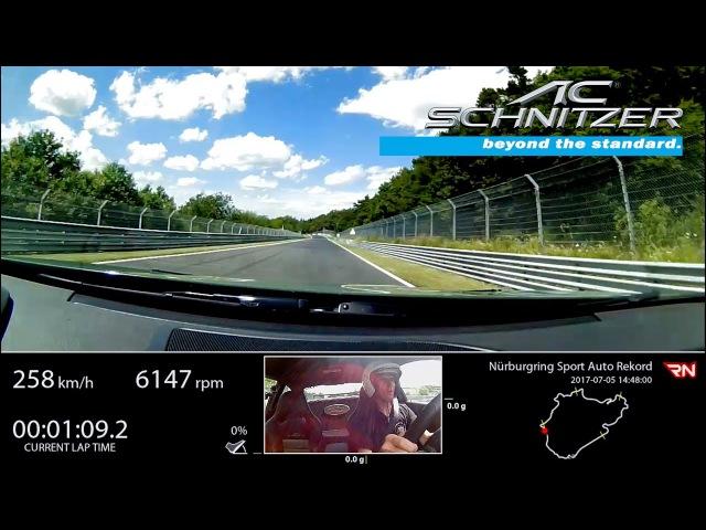 AC Schnitzer ACL2 schnellster straßenzugelassener BMW auf der Nürburgring Nordschleife (ganze Runde)