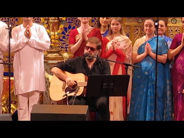 Om Saraswati - Boris Grebenshikov @ Songs of the Soul, NYC April 15th 2014