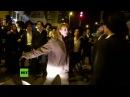 Eine Frau gegen Dutzende Männer Israelische Soldatin kämpft gegen ultra orthodoxe Demonstranten