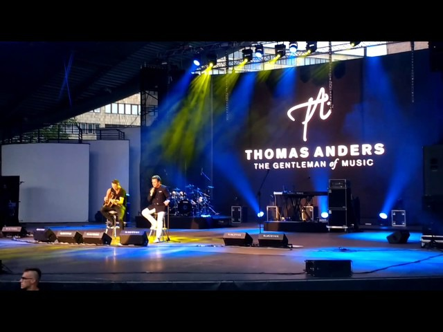 Thomas Anders in Opole, Poland. 23.06.2017-Unplugged