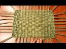 Плетем сундучок (короб) из газет. 1 Часть. Плетение прямоугольного дна! Прямая тра