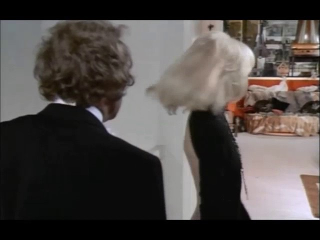Mireille Darc in a scene from Le Grand Blond Avec une Chaussure Noire