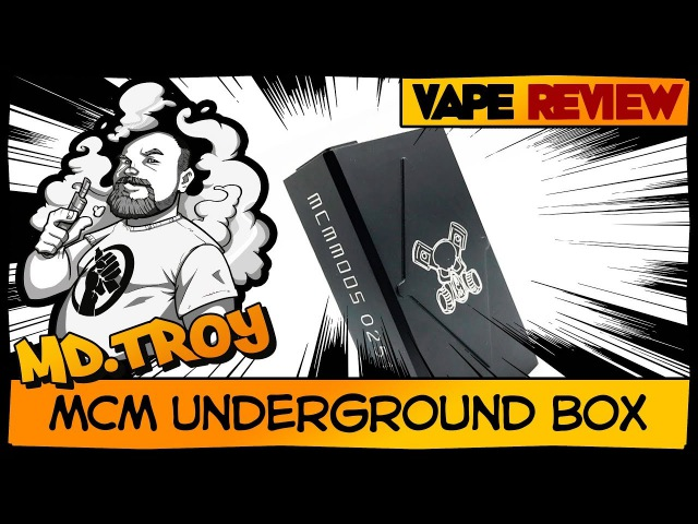 MCM Underground Box (from PAROM Vapebar) | угловато
