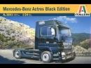 Сборка масштабной модели фирмы Italeri : MERCEDES - BENZ ACTROS BLACK EDITION в масштабе 1/24. Часть третья. Автор и ведущий: Дмитрий Гинзбург. : www.i- goods/model/avto-moto/189/
