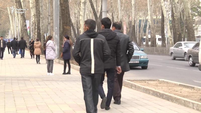 Сокинони Душанбе аз лафзи бади ҷавонон ба дод омадаанд