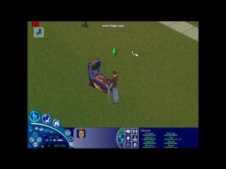 The Sims 1- Pinball Machine