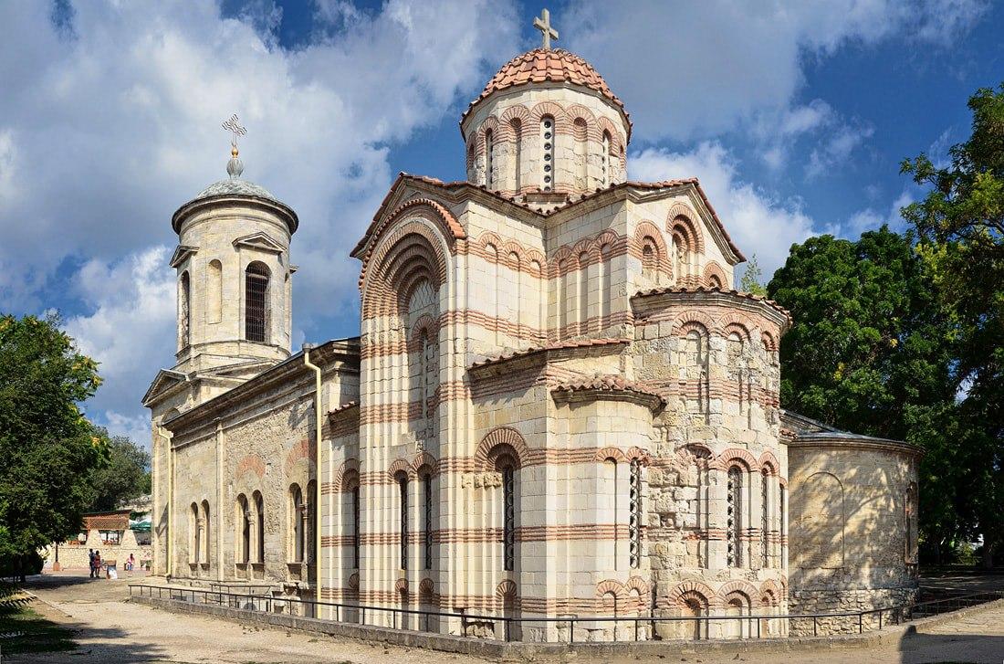 Храм Иоанна Предтечи в Керчи, 8 век, один из древнейших в Европе