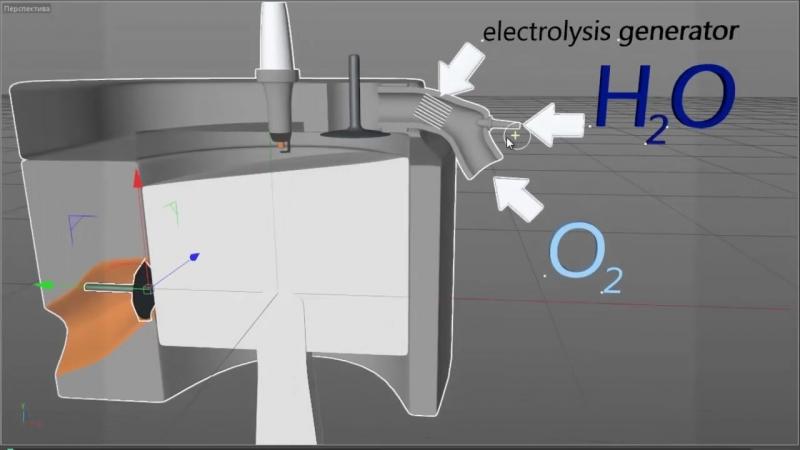 Визуализация двигателя работающего на простой воде » Freewka.com - Смотреть онлайн в хорощем качестве