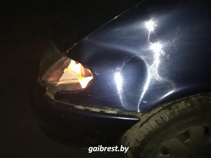 Ганцевичский район: под колесами иномарки пострадала пешеход
