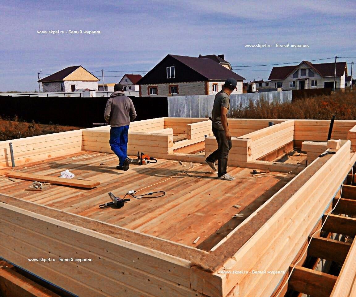 Строительство сруба из бруса в Белгородском районе