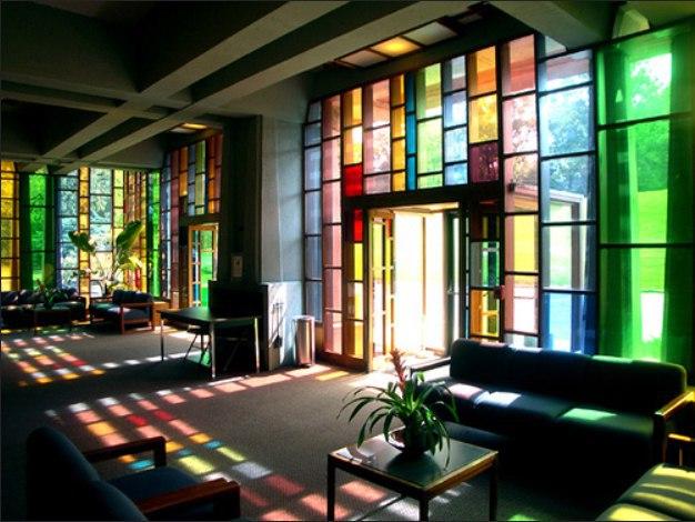 Витражи и цветное стекло