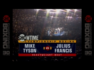 Майк Тайсон - Джулиус Фрэнсис / Mike Tyson vs Julius Francis (HD 720)
