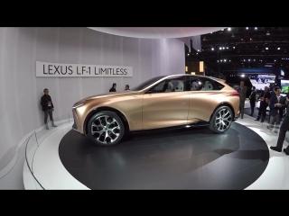 Lexus LF-1 Limitless _ Дневники детройтского автосалона