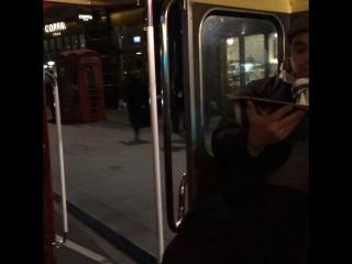 Автобус в англии старая модель