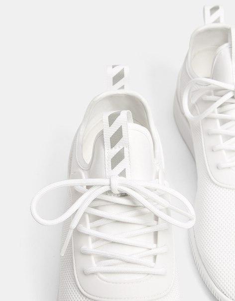 Кроссовки с цельным сетчатым верхом
